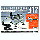 Wave Compressor 317 Full Set w/Air Brush