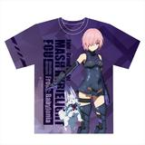 Fate/Grand Order - Absolute Demonic Front: Babylonia: Full Graphic T-shirt L Size Mash Kyrielight
