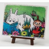 Petit Pu Lier Moomin Reading Time w/ Easel 150pcs (7.6cm x 10.2cm)