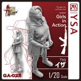 1/20 Girls in Action: Ysa