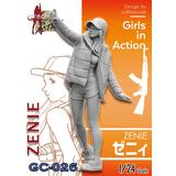 1/24 Girls in Action: Zenie