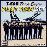 1/48 T-50B Black Eagles Pilot Team Set