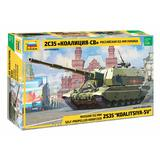 1/35 Russian 152mm Self-Propelled Howitzer 2S35 Koalitsiya